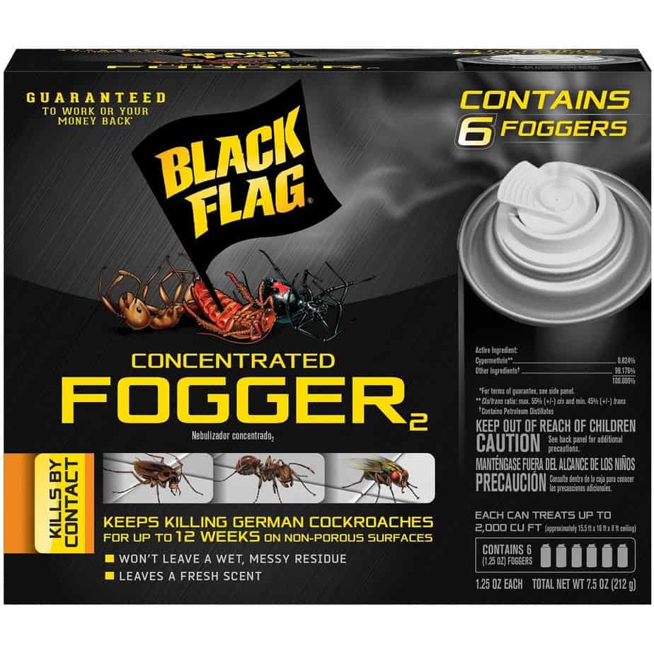 Black Flag HG-11079 6 Count Indoor Fogger Review | Insect